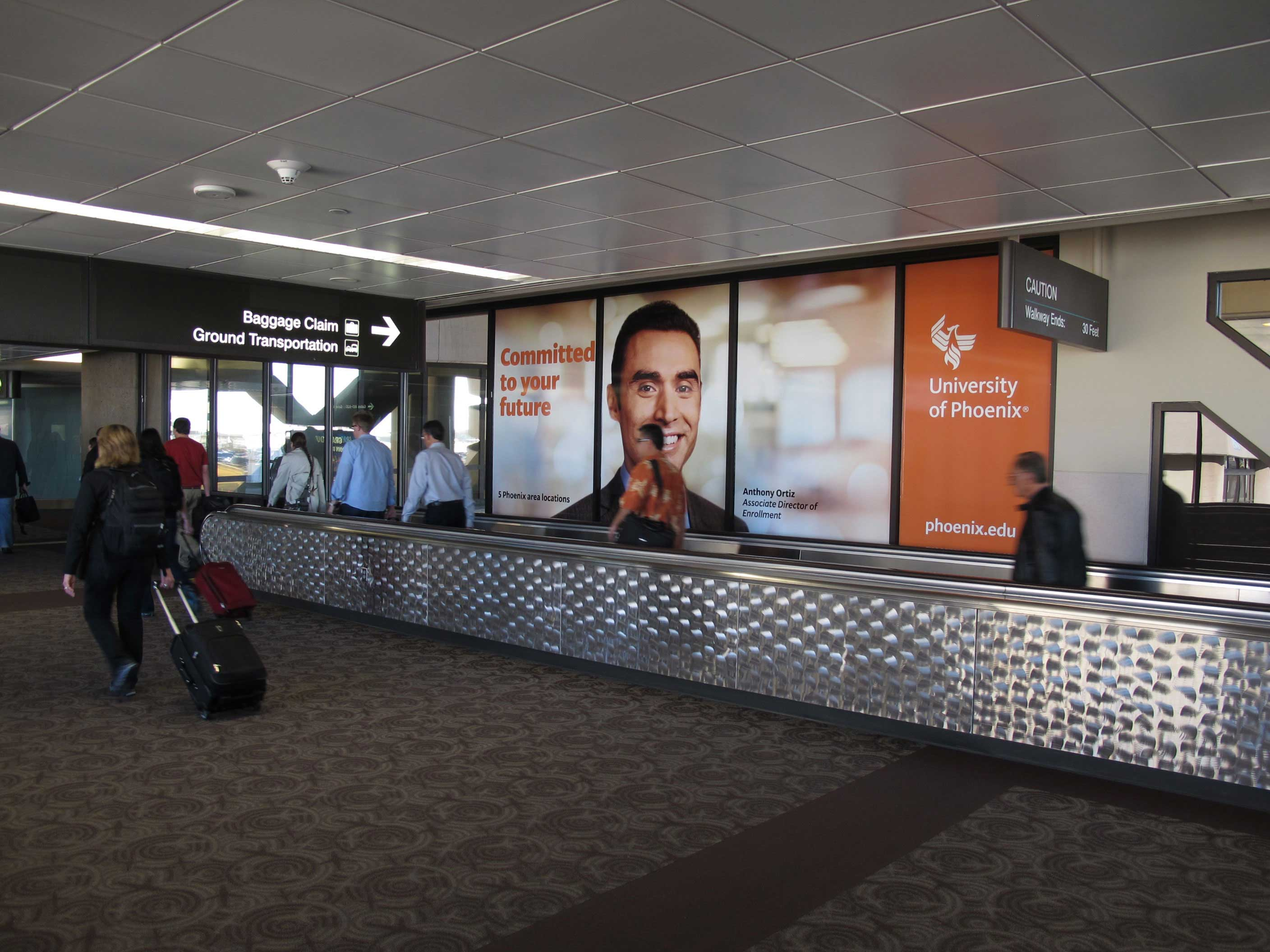 Phoenix Airport Signage Window Wraps